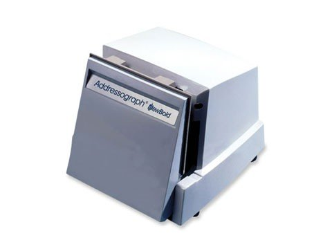 840 Addressograph Bartizan Electric Imprinter (with name plate)