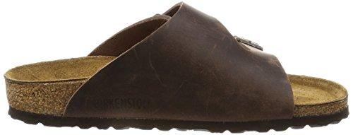 Birkenstock - Sandalias de cuero unisex marrón - Habana