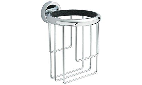 BA Hotel Hair Dryer Holder 3.7'', Blow Dryer Organizer - Brass