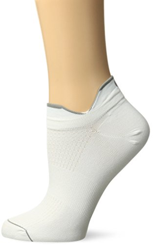 Yummie by Heather Thomson Women's Nilit Cycling Breeze Sock, White, 9/11 (fits Shoe Sizes 4-10)