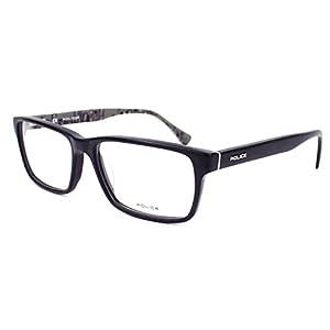 Police eyeglasses V1865 Starry 1 0703 Acetate Black - Grey