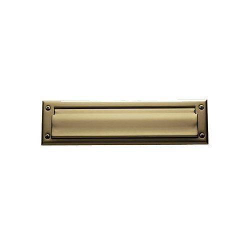 Baldwin 0014034 Letter Box Plate, Unlacquered Vintage ()