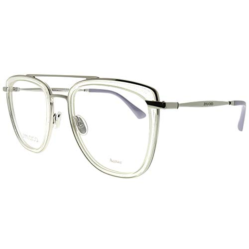 Jimmy Choo JC 219 900 Crystal Metal Square Eyeglasses 52mm