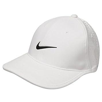 Nike Ultra Performance Golf Cap Juniors (White f5f0b499555