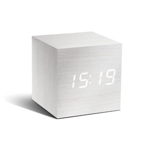 Cube Click Clock キューブクリッククロック ホワイト