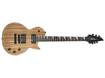 Jackson X Serie SCX monarkh Zebrano guitarra eléctrica Natural: Amazon.es: Instrumentos musicales