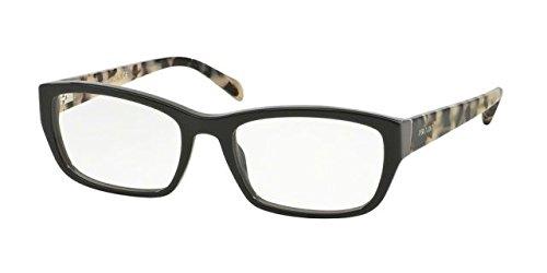 Prada PR18OV Eyeglass Frames TFN1O1-54 - Opal Grey/grey - Prices Prada Shades