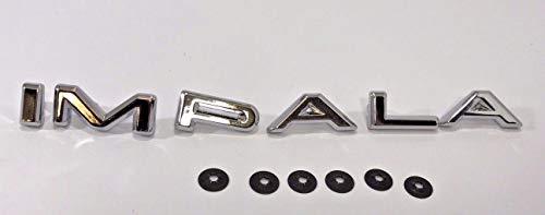 - Chevy Quarter Panel IMPALA Letter Set, 1964