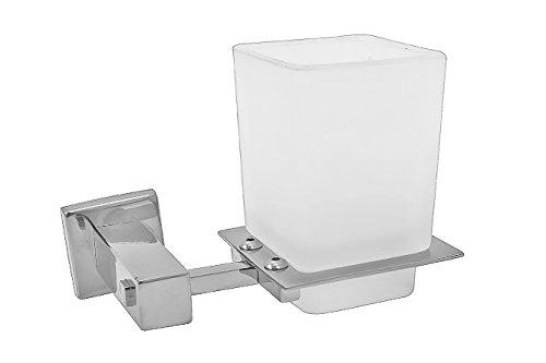 Klaxon Kristal-101 Steel Tumbler Holder/Toothbrush holder