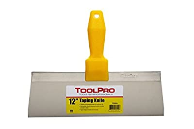 "ToolPro Taping Knife, 12"" stainless steel from ToolPro"