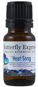 Butterfly Express HeartSong Essential Oil Blend 10 ml by Ess