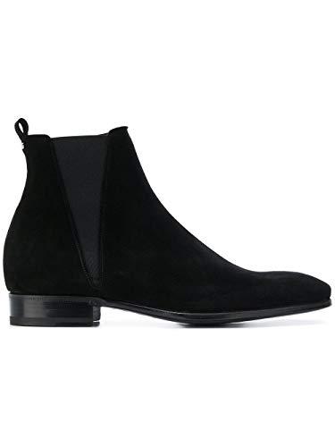 Dolce e Gabbana Men's A60176au99880999 Black Suede Ankle Boots Dolce Gabbana Mens Boots