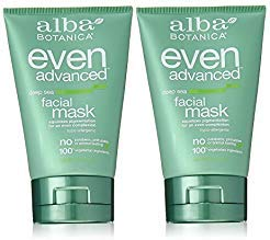 Mask Facial Alba - Alba Botanica Even Advanced, Deep Sea Facial Mask 4 oz (Set of 2)