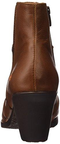 Art Women's Genova Ankle Boots Brown (Memphis Cuero 478) IHtyDN67