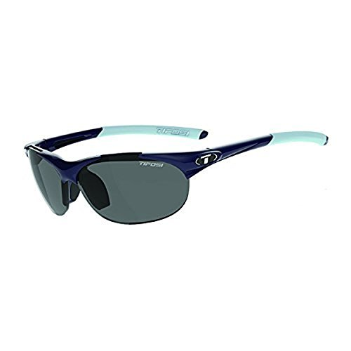 Tifosi Wisp Sunglasses Midnight Blue / Smoke (AC Red, Clear) & Care Kit - Sunglasses Wisp Tifosi