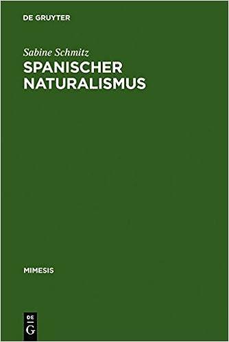 Book Spanischer Naturalismus (Mimesis) (German Edition)