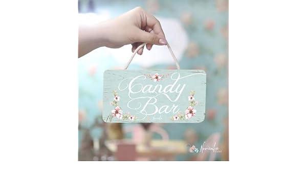 Noviembre Dulce Cartel de Boda Candy Bar: Amazon.es: Hogar