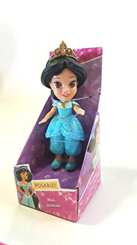 Disney Princess Poseable Jasmine Sparkle Collection Mini Toddler Doll 3