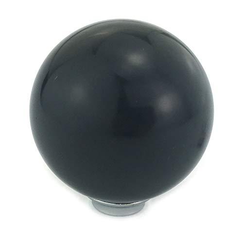 - Thruifo Billiard Shift Stick Knob, Black Solid Table Ball Style MT Car Gear Shifter Head Fit Most Manual Automatic Vehicles