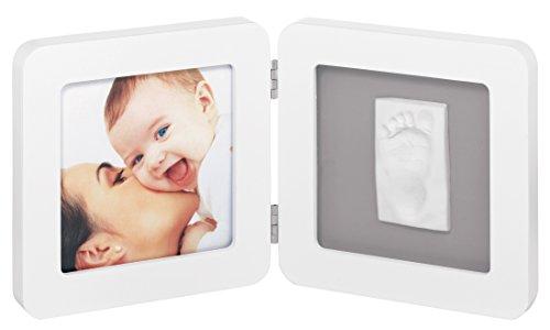 Baby Art 34120050 - Print Frame  - Bilderrahmen für Hand- oder Fußabdruck, white & grey