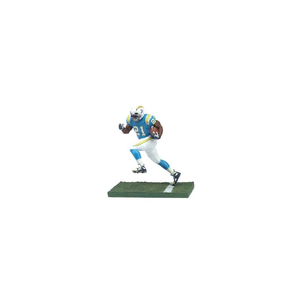 McFarlane Toys NFL 3 Inch Sports Picks Series 4 Mini Action Figure LaDainian Tomlinson (San Diego Chargers)
