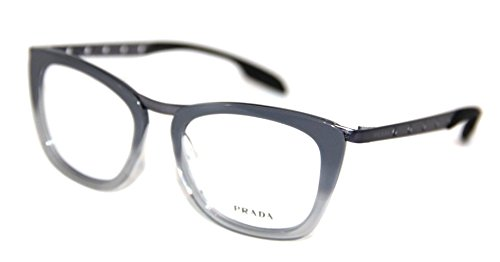 Prada Eyeglasses PR60RV TV81O1 Grey Gradient Opal 51 18 - Prada Eyeglasses Buy