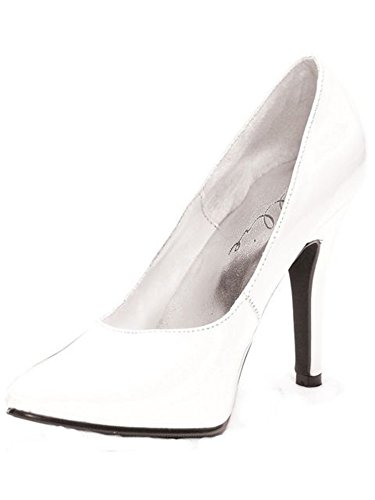 Ellie Shoes Womens 8220 Dress Pump White