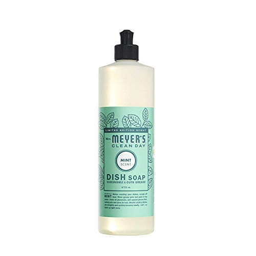 Mrs. Meyer's - Clean Day Liquid Dish Soap (Mint, Pack - 1)
