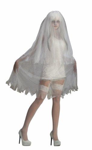 Forum Novelties Women's Sultry Spirit Ghost Costume, White, Standard]()