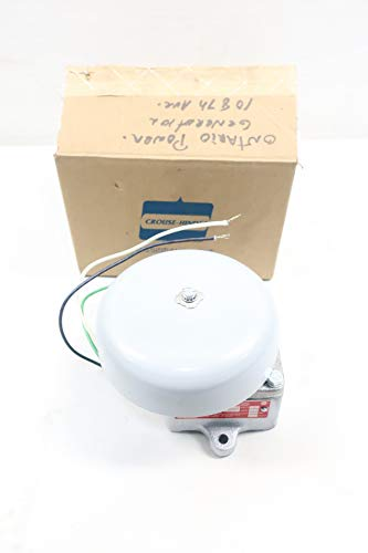 - CROUSE HINDS ESR2672 Explosion Proof Bell Signal 120V-AC