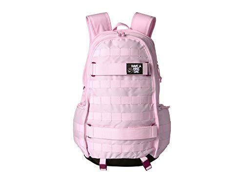 - Nike Unisex NSW RPM Backpack - All Over Print Pink Foam/True Berry/Black One Size