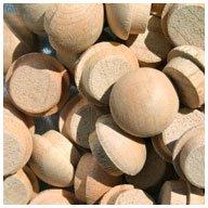"WIDGETCO 7/16"" Cherry Button Top Wood Plugs"