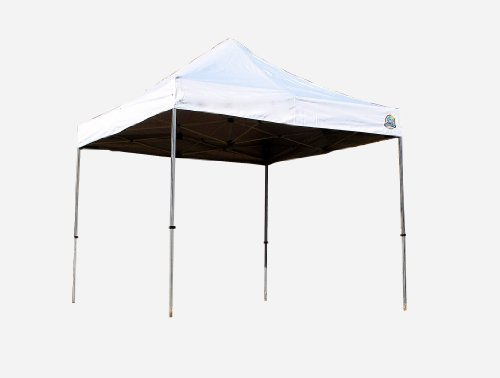 - Undercover Canopy Aluminum Instant Shelter - 100 Sq.ft of Shade (10 x 10- Feet, White)
