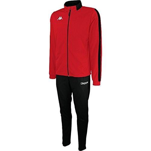 Kappa Trainingsanzug salcito TKS Herren XXXL rot//schwarz