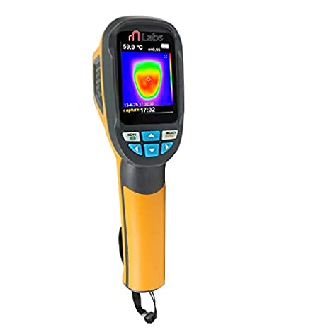 mlabs Handheld IR Thermal Imaging Camera Digital Display Infrared Imager Thermal Imagers at amazon