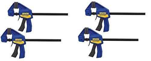 - IRWINQUICK-GRIPOne-Handed Mini Bar Clamp 2 Pack, 6
