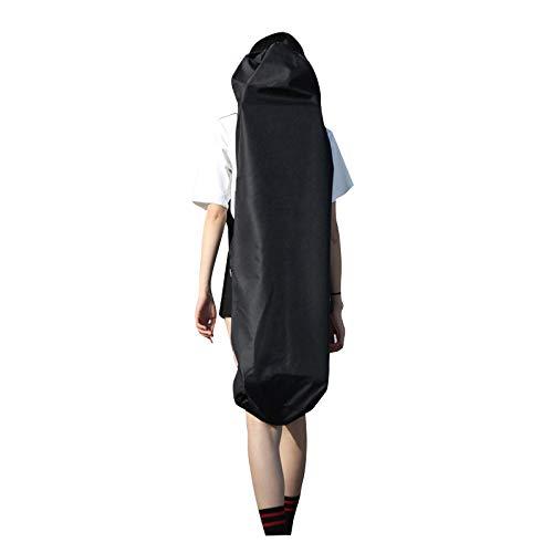 Moligh doll 110Cm Long Skateboard Bag Oxford Cloth Skateboard Bag 43 Skateboard Carrying Case Shoulder Travel Longboard Backpack Four Wheel Skateboard Bag