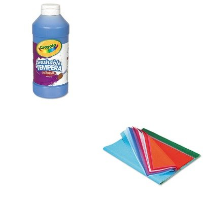 kitcyo543115042pac58516-value-kit-pacon-spectra-art-tissue-pac58516-and-crayola-artista-ii-washable-