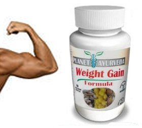 (60 Tablets) Planet Ayurveda Weight Gain Formula (GAIN Mass Men) Pills Gain Weight Men – Gain True Mass Easily!