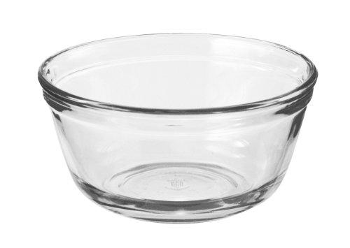 Anchor Hocking Glass Food Prep and Mixing Bowls, 1.5 Quart (Set of 6)