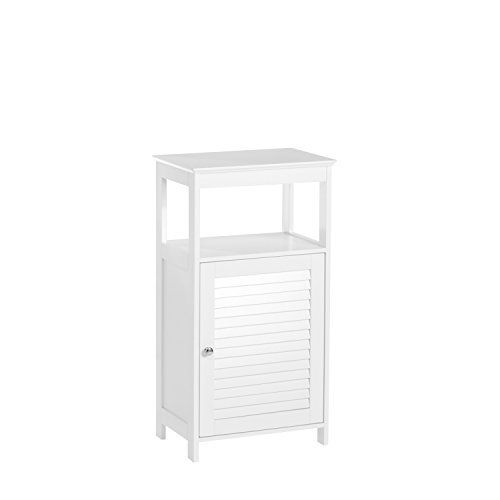 amazoncom riverridge home ellsworth collection single door floor cabinet white home u0026 kitchen