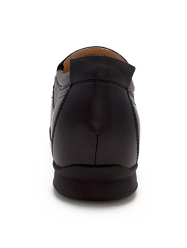 Zerimar Schuhe für Männer Erhöhen auf Unsichtbare Weise Ihre Körpergrösse, Höhe Steigerung, Versteckter anhebender Ferse, Erhöht Ihre Höhe bis zu + 6 cm 100% Leder