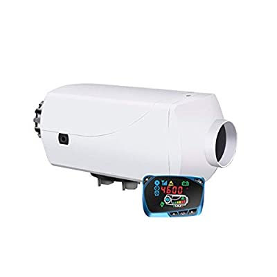 SHZONS Air Diesel Heater,12V 5KW Vehicle Heater,LCD Thermostat Auto Cars Trucks Motor Homes Boats Bus Parking Speed Hot