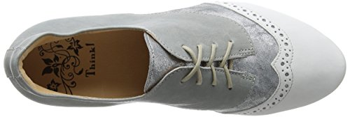 Think! Women's Guad_282283 Brogues Grey (Stahl/Kombi 19 Stahl/Kombi 19) clearance for sale amazon cheap price outlet browse new cheap online kajlNiVTg