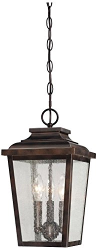 Minka Lavery Outdoor Ceiling Lighting 72174-189, Irvington Manor Aluminum Pendant, 225 Watts, ()