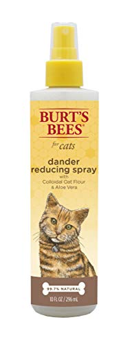 Burt's Bees for Cats Dander Reducing Spray with Colloidal Oat Flour & Aloe Vera, 10 oz