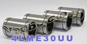 Pack of 4 LME30UU 30mm Ball Bushing 30x47x68 Linear Motion Bearings
