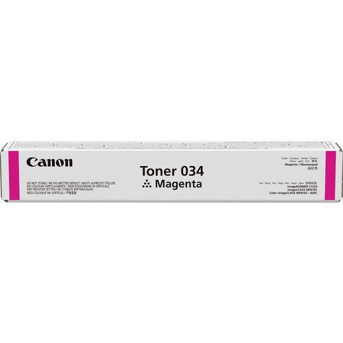 Canon Toner 034 Magenta Pages 7.300, 9452B001 (Pages 7.300 Standard capacity) by Canon