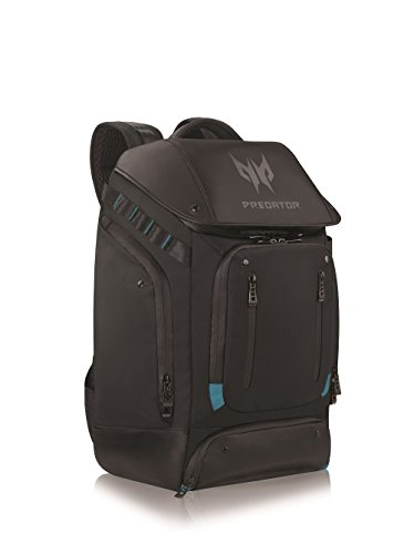 Acer Predator Utility Gaming Backpack, Water Resistant and Tear Proof Travel Backpack Fits and...