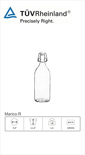 reusable glass soda bottles - 5